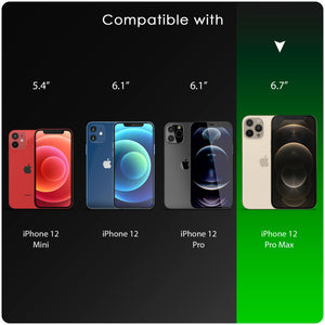 iSoul iPhone 12 Pro Max Case hard back soft bumper around Slim Soft Silicone