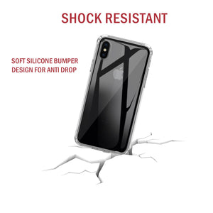 Premium Soft Gel Clear Case for Apple iPhone X - iSOUL