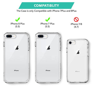 Buy Hard Back Case for iPhone 7 Plus & iPhone 8 Plus with pay-pal UK - TradeNRG UK