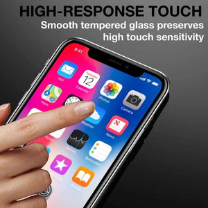 "2x Apple iPhone XR 9H HD 6.1"" iSoul Tempered Glass Screen Protectors - TradeNRG UK"