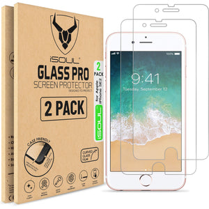 "Premium iSOUL iPhone SE 2020 Screen Protector 4.7"" inch Tempered Glass - TradeNRG UK"