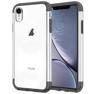 Case for iPhone XR Shock Proof Soft TPU Silicone Phone Clear Slim Cover