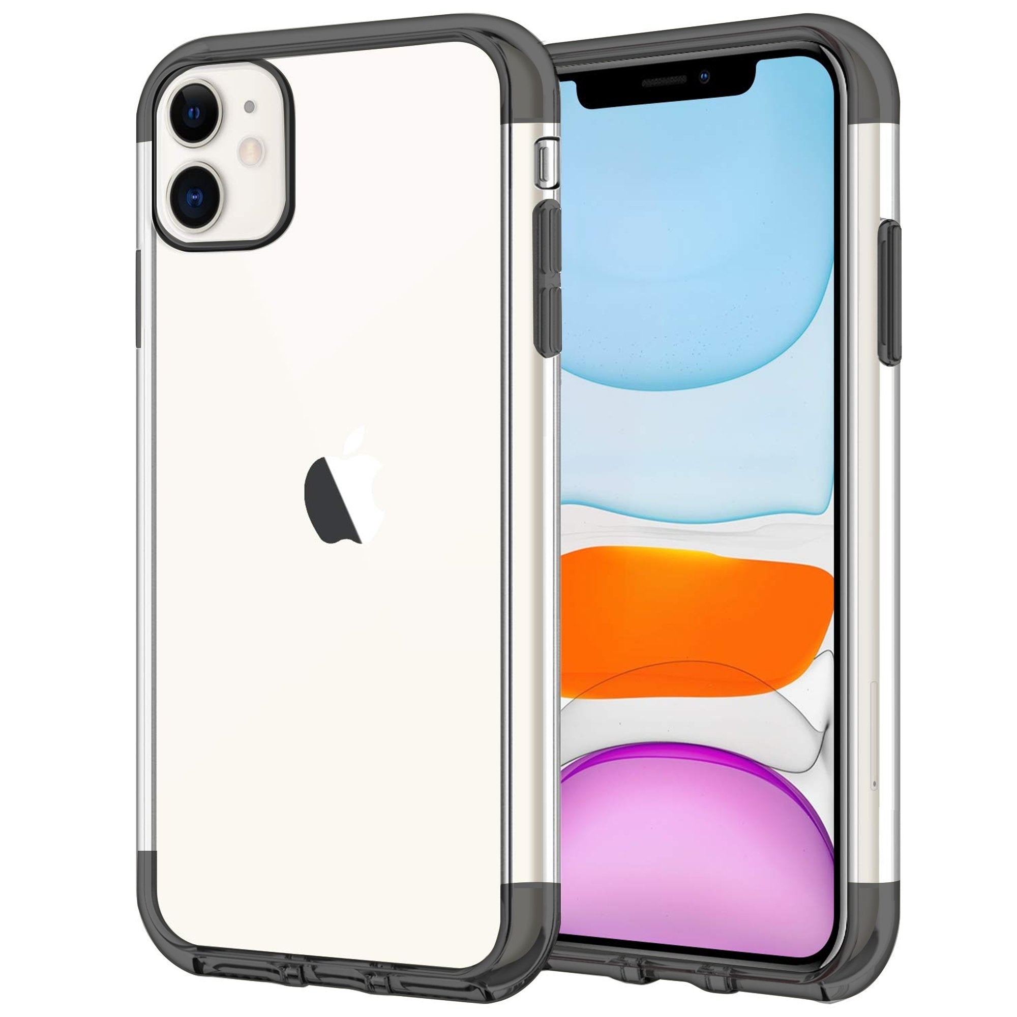 Case for iPhone 11 Shock Proof Soft TPU Silicone Phone Clear Slim Cover by  iSOUL