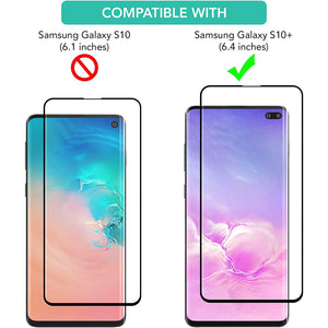 iSOUL 3 Pack Flexible Screen Protector for Samsung Galaxy S10 Plus 6.4