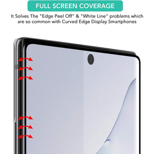 ISOUL 3 Pack Flexible Screen Protector for Samsung Galaxy Note 10 6.3""
