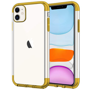 Case for iPhone 11 Shock Proof Soft TPU Silicone Phone Clear Slim Cover