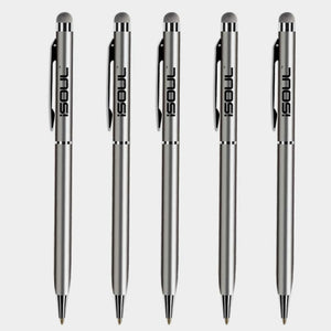 iSOUL Stylus Pen Stylus Touch Pen Pack of 5 Stylus Pens for Touch Screens stylus for Apple iPads iPad Mini iPhone Samsung Galaxy Mobile Phones - iSOUL
