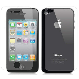 iSoul 2 in 1 Front Back Tempered Glass Screen Protector For iPhone 4 4S - TradeNRG UK
