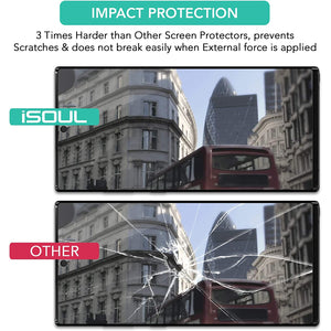 "iSOUL Screen Protector for Samsung Galaxy Note 10 Plus 6.8"" Pack of 3"