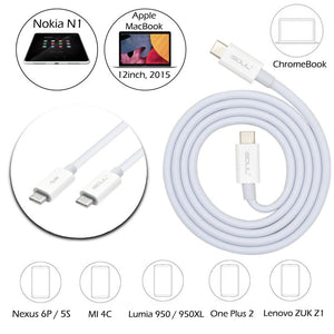 USB 3.1 Type C to Type C Charging/Syncing Cable For Macbook 12 OnePlus - iSOUL