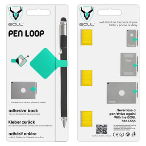 3X Yellow Adhesive Pen Loop Holder for Surface Pen - iSOUL