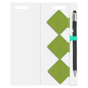 Pack of 3 Green Pen Loop Holder for Notebook - iSOUL