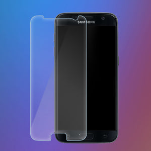 2X High Visibility Screen Protector Tempered Glass for Samsung Galaxy S6 - iSOUL