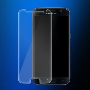 2X Crystal Clear Tempered Glass Screen Protector for Samsung Galaxy S7 - iSOUL