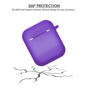 Purple Airpod Case for Apple Airpods - iSOUL
