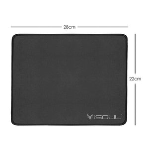 black mouse mat
