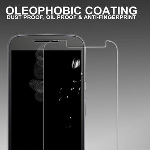 2X  Tempered Glass Screen Protector Glass for Apple iPhone  4 and 4S - iSOUL