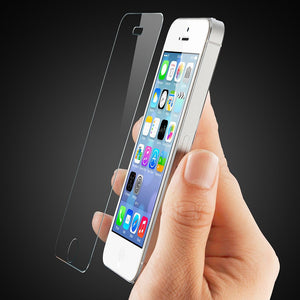 2X Tempered Glass Screen Protector for Apple iPhone  4 - iSOUL