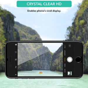 4X Crystal Clear Screen Protector for Apple iPhone 8 Plus - iSOUL