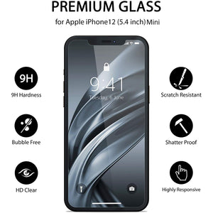 iPhone 12 Mini Tempered Glass