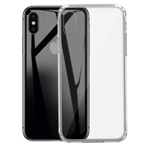 Transparent Silicone Gel Clear Case for Apple iPhone XS - iSOUL