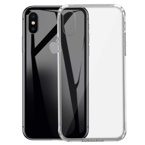 iSOUL Silicone Clear Case for Apple iPhone XS - iSOUL