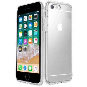 Bumper Back Gel Clear Case for Apple iPhone 6 - iSOUL