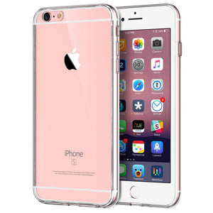 Transparent Premium Clear Case for Apple iPhone 6s - iSOUL