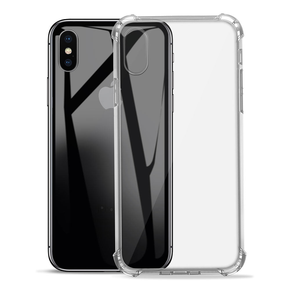Anti Yellowed Slim Soft TPU Gel Case for Apple iPhone X by  iSOUL