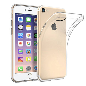 Crystal Clear TPU Gel Clear Case for Apple iPhone 7 - iSOUL