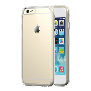 Crystal Clear Silicone Gel Case for Apple iPhone 6 Plus - iSOUL