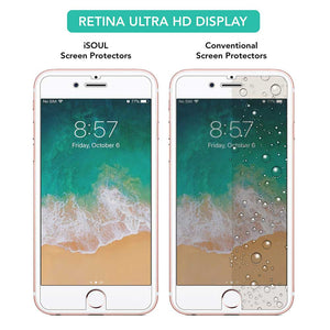 4X Tempered Glass Screen Protector for Apple iPhone 6 - iSOUL