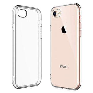 iSOUL Bumper Back Gel Clear Case for Apple iPhone 6s Plus - iSOUL