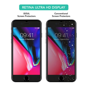 2X Screen Protector Tempered Glass for Apple iPhone 8 - iSOUL