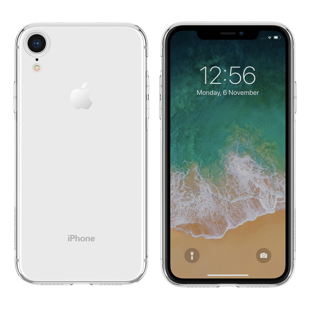 Anti Yellow Clear Case for Apple iPhone XR by  iSOUL