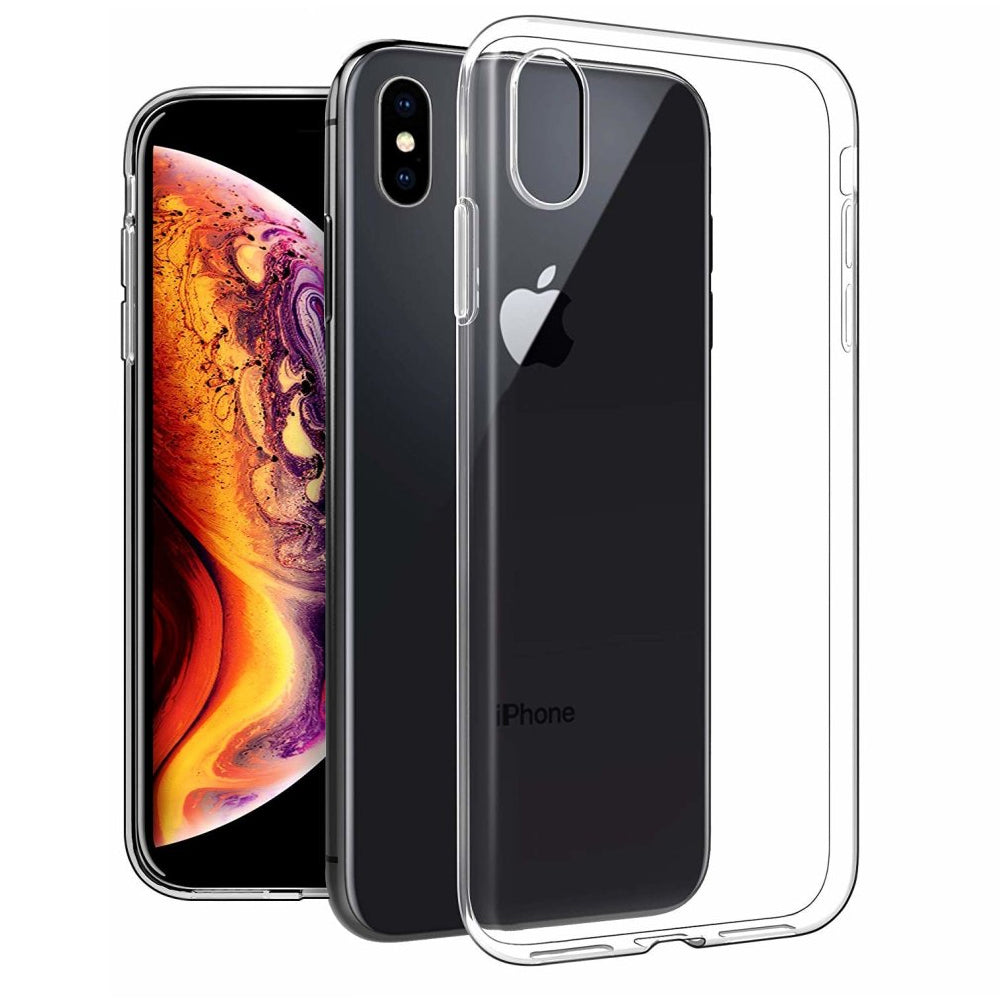 Soft TPU Silicone Gel Clear Case for Apple iPhone XS Max by  iSOUL