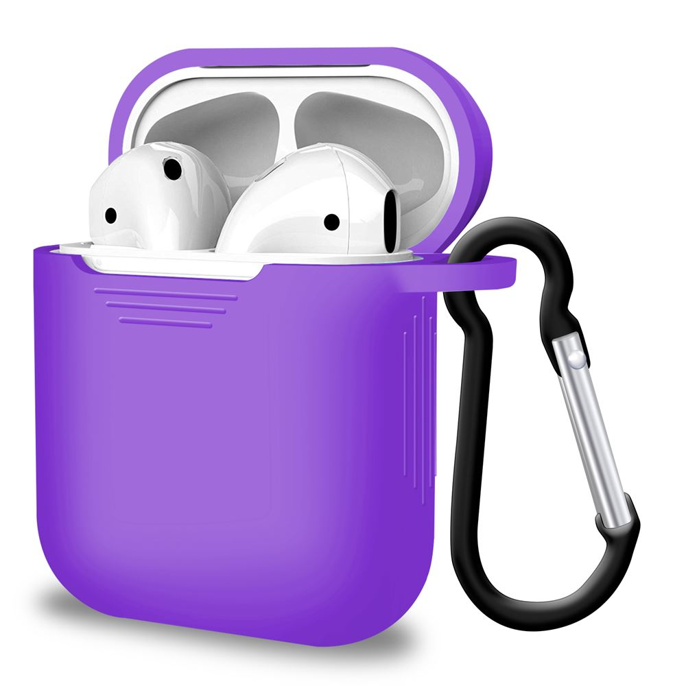 Purple Airpod Case for Apple Airpods, Audio Accessories by iSOUL