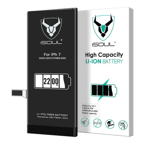 2200 mAh Li-Polymer Replacement Battery Compatible for iPhone 7
