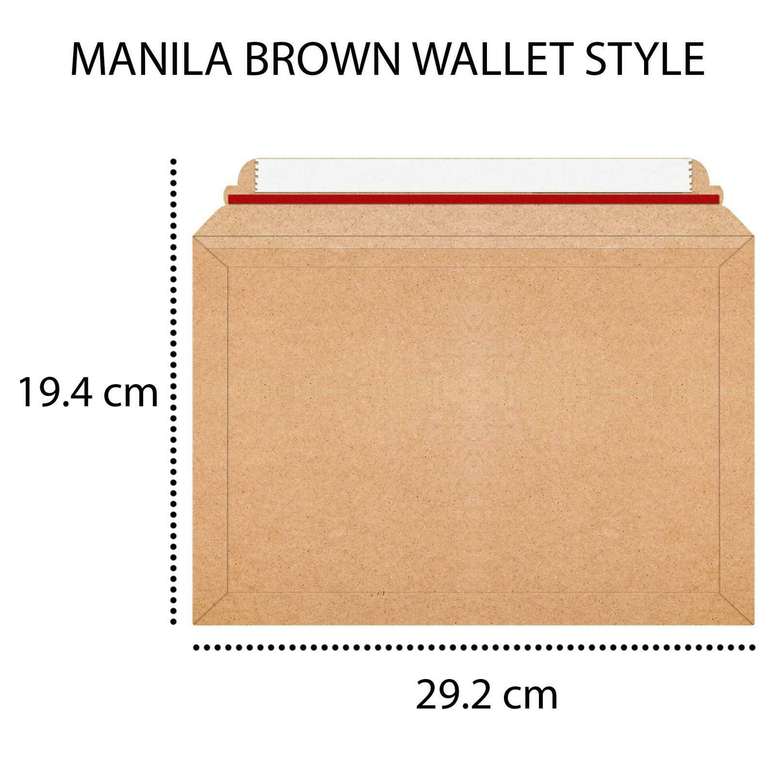 Envelope Manilla Brown Book Wallet Bags Book Post Mailer by  iSOUL