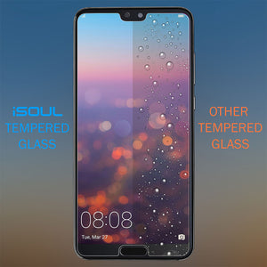 2X Strong Tempered Glass Screen Protector for Huawei P20 Pro - iSOUL