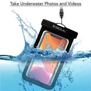 Waterproof Cover for Mobile Phone upto 6.1 Inch Phones - iSOUL