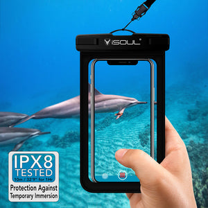 Waterproof Cases for Mobile Phones up to 6.1 Inch - iSOUL