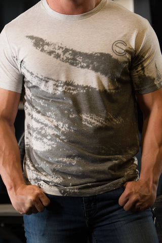 SC Black Smoke - Socrave Athleisure Wear Men's T-Shirt