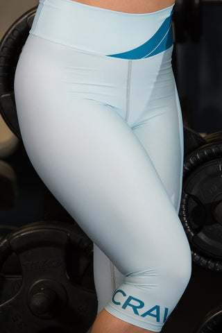 SC Blue Bands - Socrave Athleisure Wear Women's Capris