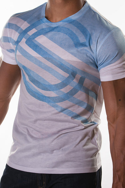 SC Blue Blinds - Socrave Athleisure Wear Men's T-Shirt