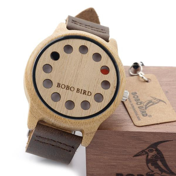 BOBO BIRD Bamboo Watches Will Help You Lose Track of Time!