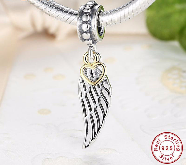 Sterling Silver Love & Guidance Charm - CrumelsWorld