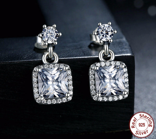 Sterling Silver Timeless Elegance Earrings - CrumelsWorld