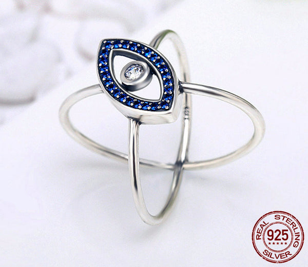 Sterling Silver Protection Ring