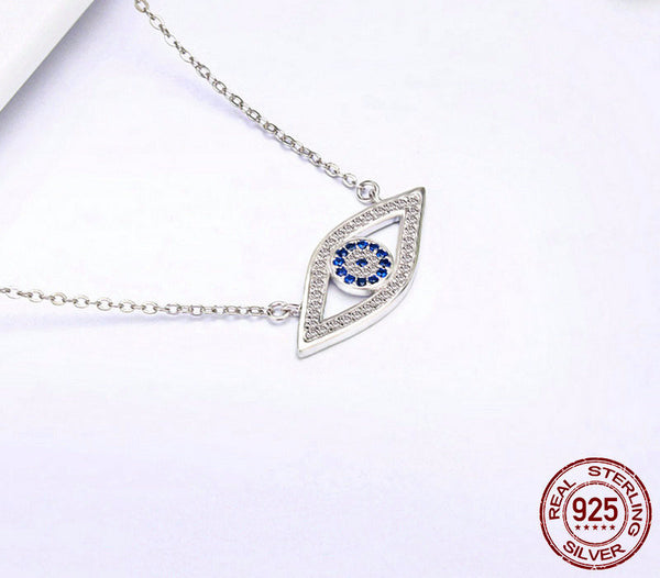 Sterling Silver Protection Pendant & Necklace